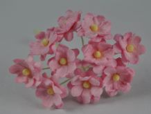 LIGHT PINK CHERRY BLOSSOM Mulberry Paper Flowers
